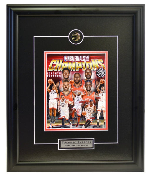 "Toronto Raptors NBA Championship ""Collage"" Framed Licensed 8x10 Photo WTN-19"