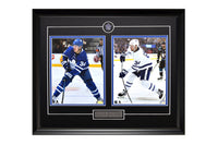 Toronto Maple Leafs Auston Matthews Action Shots Two Framed 8x10 Licensed Photos