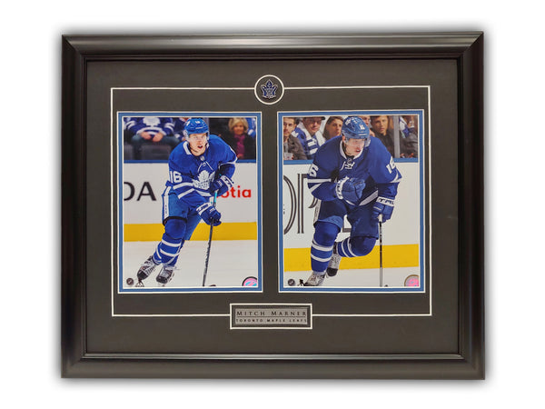 Mitch Marner Toronto Maple Leafs Dual Framed 19' x 23' Licensed Photos