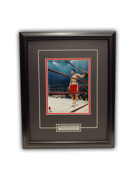 Muhammad Ali - THE GREATEST 19' x 23' - Framed Print