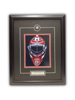 "Patrick Roy Montreal Canadiens "" Mask "" 19' x 23' Framed Licensed Print"