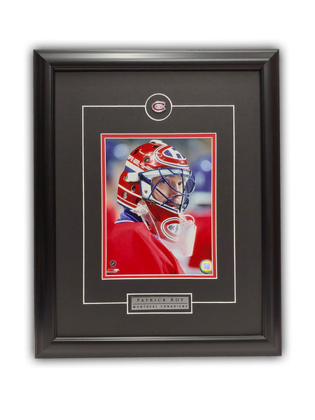 Patrick Roy - Montreal Canadiens 19' x 23' Framed Licensed Print