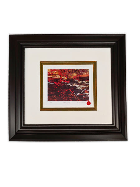 "Group of Seven A.J Jackson ""Red Maple"" 22x24 Framed Limited Edition"