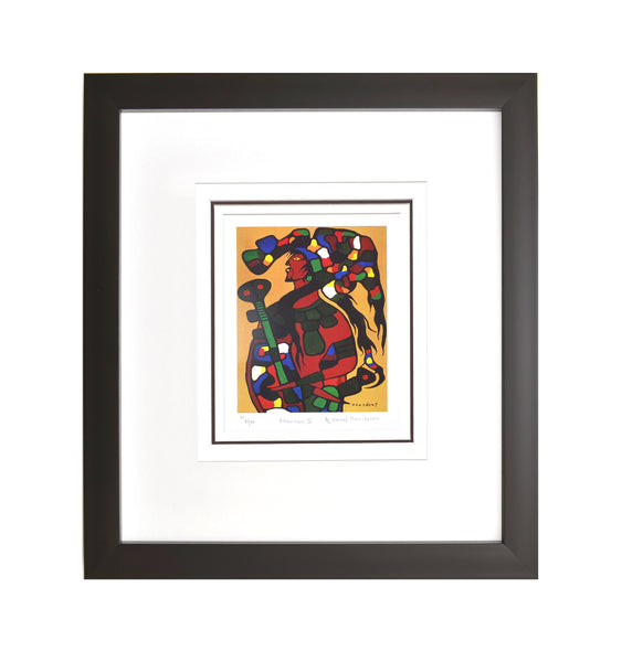 "Norval Morrisseau ""Shawman Two"" Framed Limited Edition"
