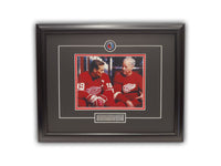 Steve Yzerman & Gordie Howe Detroit Red Wings 19' x 23' Framed Licensed Print