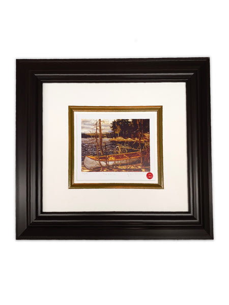 "Group of Seven Tom Thomson ""The Canoe"" 22x24 Framed Limited Edition"