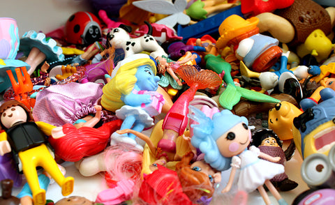 Pile of old toys