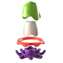 Load image into Gallery viewer, Pre-order - Octo-buoy stacking bath cup set
