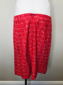 CHANEL Tweed Skirt Size 44