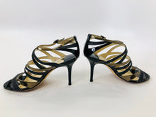 Load image into Gallery viewer, Jimmy Choo Black Strappy Sandals size 37