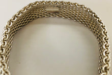 Load image into Gallery viewer, Tiffany & Co. Sterling Silver Somerset Mesh Bracelet