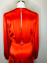 Load image into Gallery viewer, Alexis Orange Modesta Maxi Dress Size M