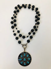 Load image into Gallery viewer, Rainey Elizabeth Black Onyx Necklace