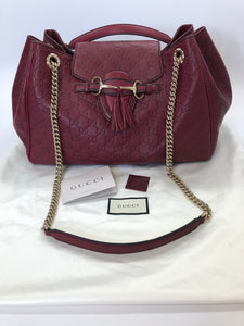 Gucci Large Emily Flap Shoulder Bag