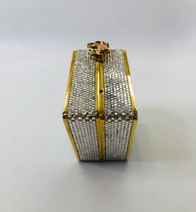 Judith Leiber Crystal Butterfly Clutch