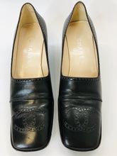 Load image into Gallery viewer, CHANEL Brown Leather Pumps Size 38