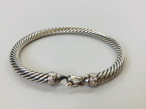 David Yurman Cable Buckle Bracelet Size XS