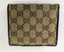 Load image into Gallery viewer, Gucci GG Canvas Wallet