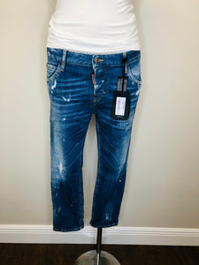 DSQUARED2 Cool Girl Cropped Jeans Size 42