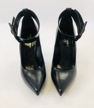 Load image into Gallery viewer, Saint Laurent Black Ankle Wrap Pumps size 39