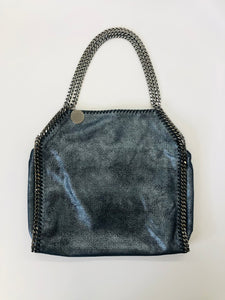 Stella McCartney Blue Falabella Small Tote Bag