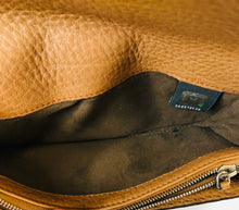 Load image into Gallery viewer, Fendi Camel Pebbled Leather Continental Wallet