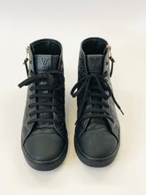 Load image into Gallery viewer, Louis Vuitton Black Sneaker Boot Size 38