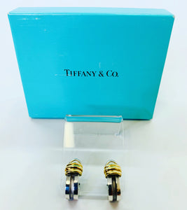 Tiffany & Co. Atlas Groove Clip On Earrings