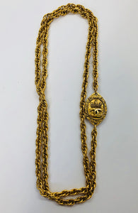 CHANEL Vintage Layering Chain