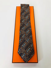 Load image into Gallery viewer, Hermès Print Tie