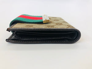 Gucci GG Canvas Wallet