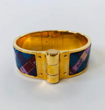 Load image into Gallery viewer, Hermès Wide Charniere Bracelet size L