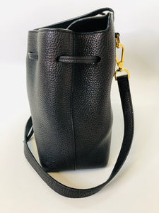 Mansur Gavriel Black Lady Saffiano Bag