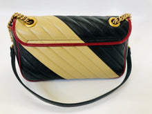 Load image into Gallery viewer, Gucci Color Block Marmont Small Flap Bag