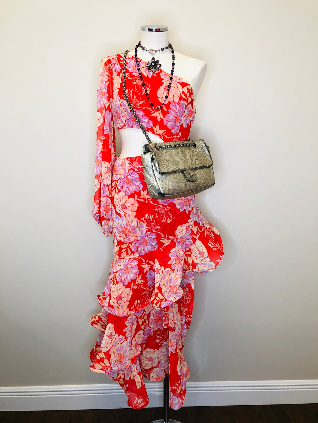 Alexis Sabetta Floral Dress Sizes S and M