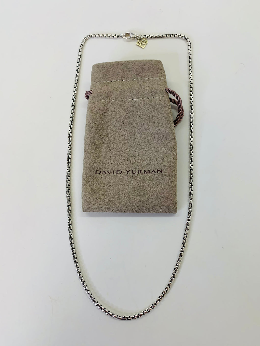 "David Yurman 18"" Box Chain Necklace"