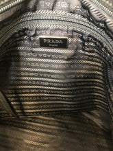 Load image into Gallery viewer, Prada Black Nylon Tote Bag With Leather and Studs