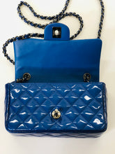 Load image into Gallery viewer, CHANEL Blue Classic Mini Flap Bag