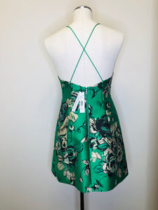 Alice + Olivia Kelly Multi Floral Dress Size 4