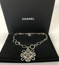 Load image into Gallery viewer, CHANEL Silver Pendant Necklace