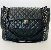 Load image into Gallery viewer, CHANEL Large Adjustable Chain Flapbag