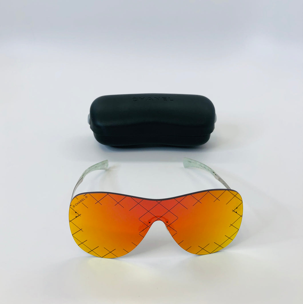 CHANEL Runway Shield Sunglasses