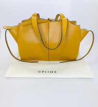 Load image into Gallery viewer, Celine Blonde Calfskin Medium Tri-Fold Bag