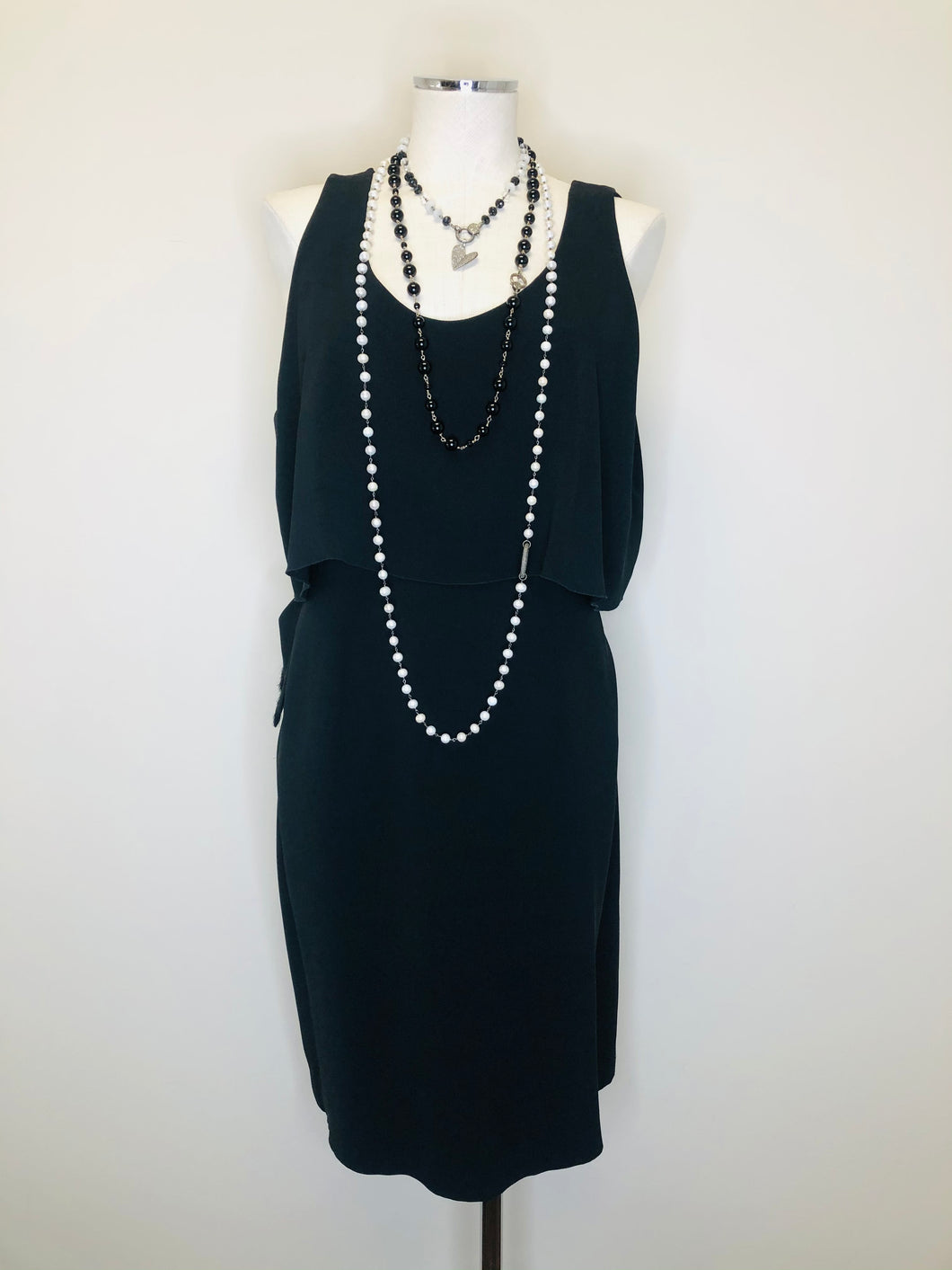 CHANEL Little Black Dress Size 44
