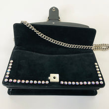 Load image into Gallery viewer, Gucci Crystal Embellished Black Small Dionysus Bag