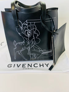 Givenchy Stargate Bambi Medium Tote and Pouch