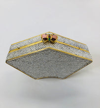 Load image into Gallery viewer, Judith Leiber Crystal Butterfly Clutch
