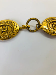 CHANEL Vintage Medallions Necklace