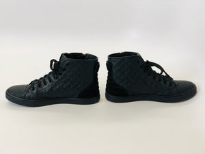 Louis Vuitton Black Sneaker Boot Size 38