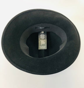 Gucci Black Felt Hat size M/57
